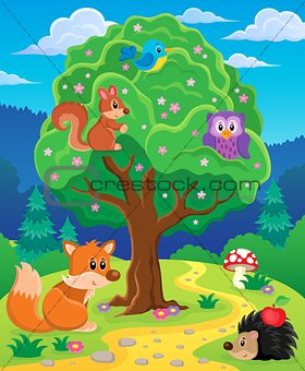 Forest animals topic image 3
