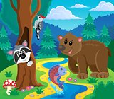Forest animals topic image 5