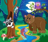 Forest animals topic image 6