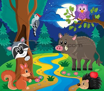 Forest animals topic image 7