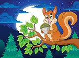 Image with squirrel theme 5