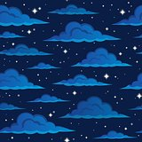 Night sky seamless background 2