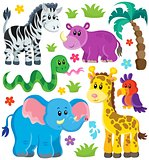 Set of African animals 3
