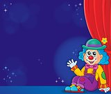 Sitting clown theme image 5