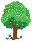 Springtime tree topic image 2