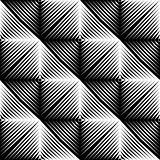 Design seamless square convex pattern