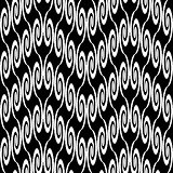 Design seamless zigzag decorative pattern