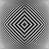 Design monochrome geometrical illusion background