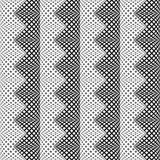 Design seamless monochrome vertical zigzag pattern