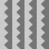 Design seamless monochrome vertical zigzag pattern