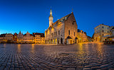 Tallinn Town Hall and Raekoja Square in the Morning, Tallinn, Es