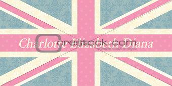 Charlotte Elizabeth Diana flag