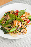 Tasty Thai Shrimp Stir Fry