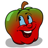 Apple With Big Smile