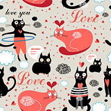 pattern lovers cats