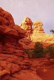 Red Desert at Sunset