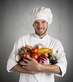 Vegetarian chef