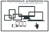 Flat responsive design kit