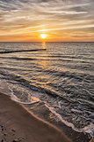 Sunset Baltic Sea