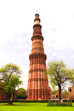 Qutub-Minar Tower, Delhi, India