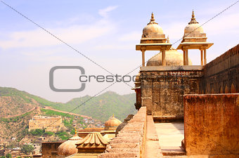 Amber Fort near Jaipur, Rajasthan, India