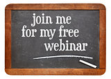 Join me for my free webinar