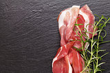 Prosciutto with rosemary