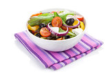 Fresh healty salad bowl
