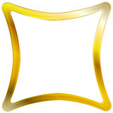 Golden square frame design