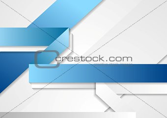 Bright tech corporate blue and white background