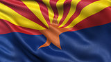 US state flag of Arizona