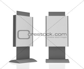 Blank Sign Tower