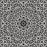 Seamless abstract outline pattern