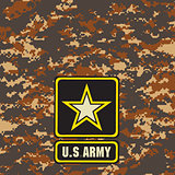 Mountain Army camouflage background