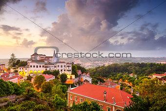 Sintral Portugal Town Skyline