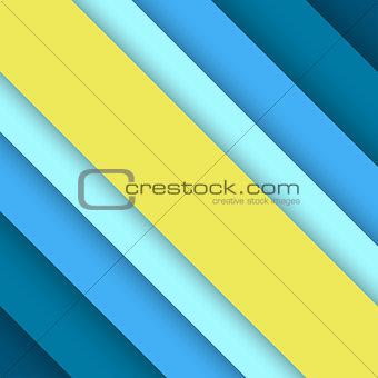 Abstract background with blue layers.