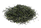 heap of japanese green tea