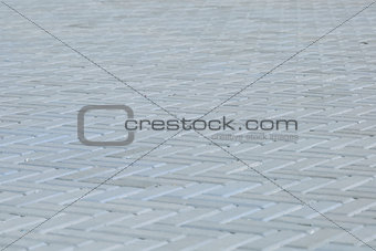 blue outdoor tile