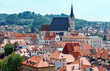 St. Vitus Church in Cesky Krumlov (Czech Republic)