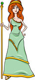greek goddess hera cartoon