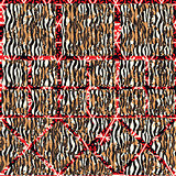 Abstract patterned texture