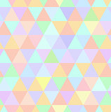 Seamless retro pattern of geometric shapes. Pastel mosaic backdrop.