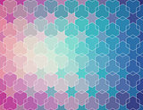 blue violet gradient pattern.  vector  background