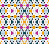 Seamless vintage pattern. Ethnic background