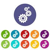 Mechanism flat icon