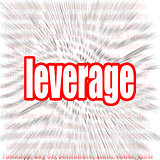 Leverage word cloud