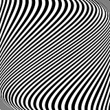 Design monochrome lines movement illusion background
