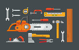 Construction Tools Objects
