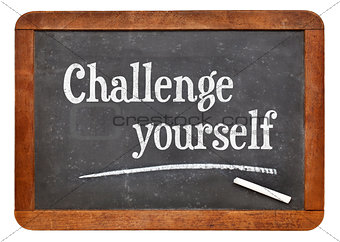 Challenge yourself on blackboard