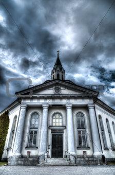 Church in Sjalevad, Sweden